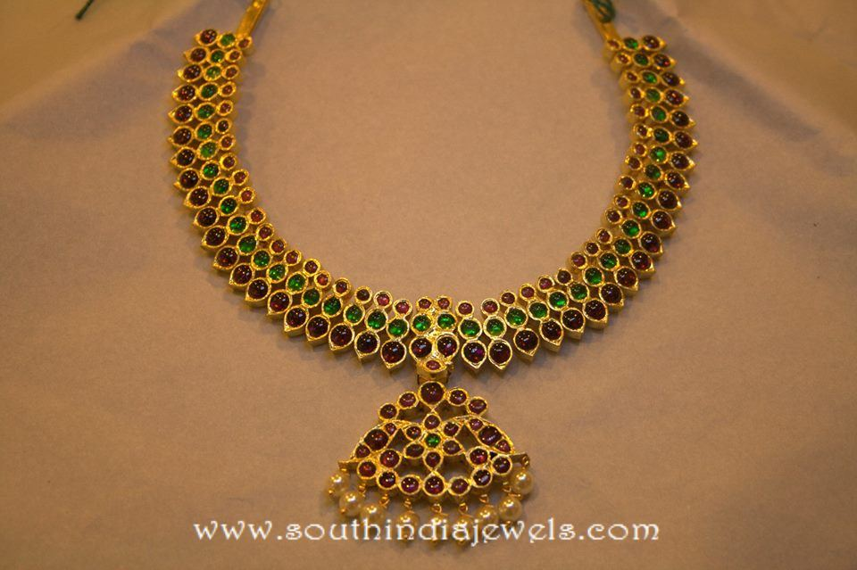 Temple Jewellery Neklace from Kumaran Ganesh