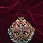 Antique Gold Ruby Pendant from Big Shop