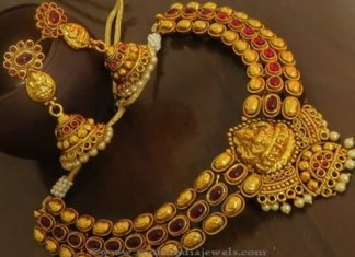 Antique Temple Necklace Sets from Emporia Jewels