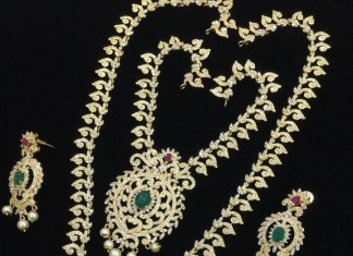 Artificial Stone Bridal Jewellers Sets