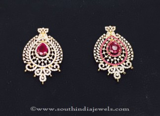 Artificial Ruby Pendants from Amithi