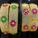 Beautiful Bridal Stone Bangles