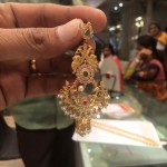 Big Chandbali Earrings with weight