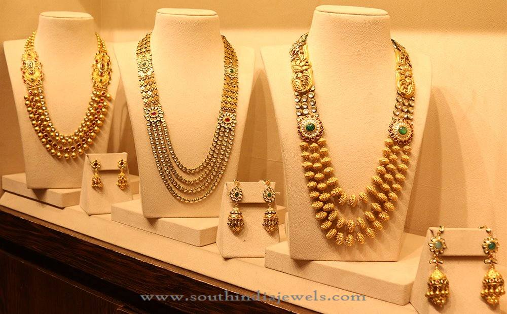 Bridal Jewellery Collections from Manubhai Jewellers