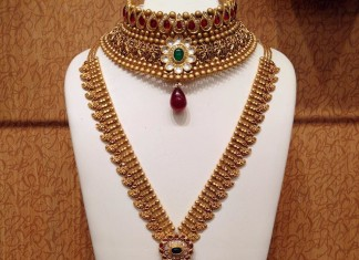 Bridal Nakshi Work Necklace from NAJ
