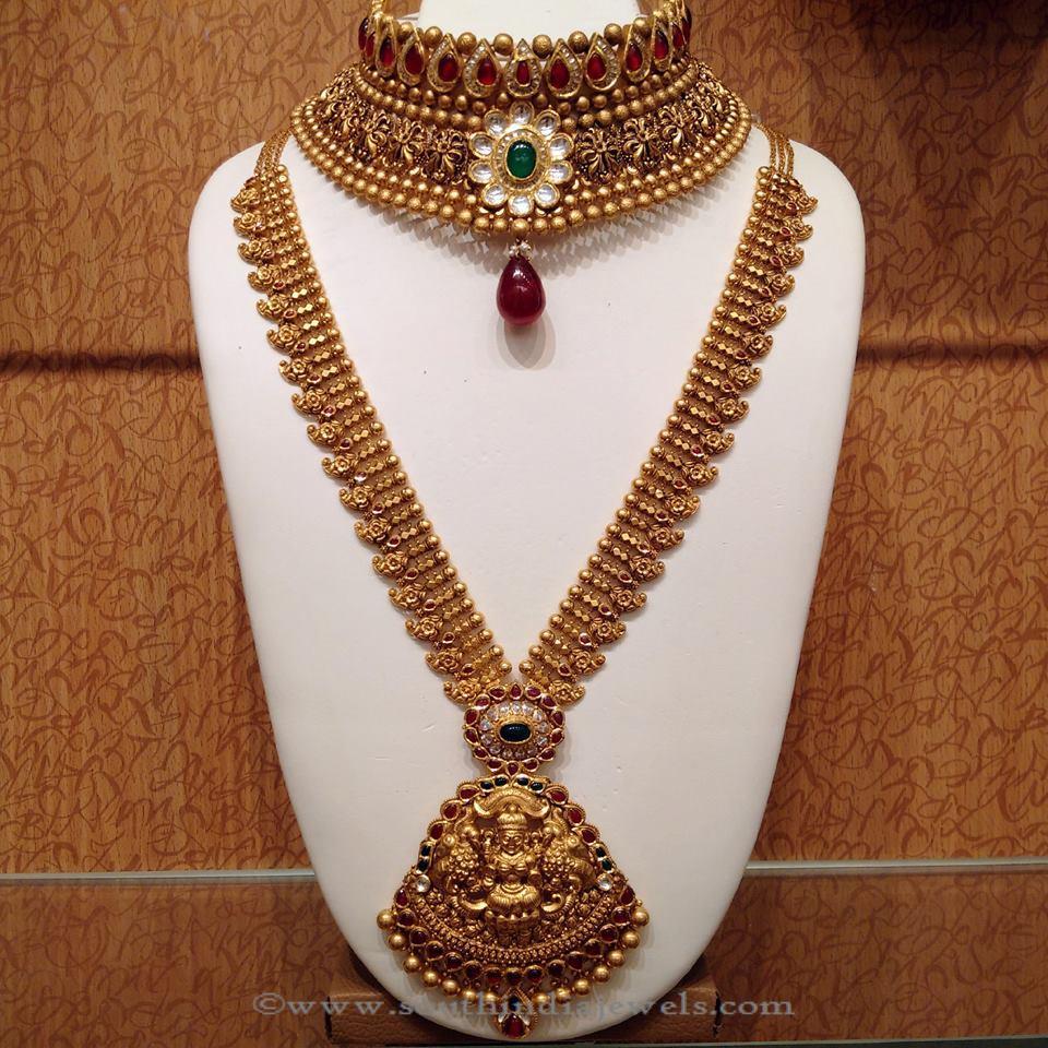 Bridal Nakshi Work Necklace from NAJ