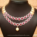 Designer Ruby Necklace from NAJ