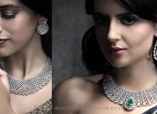 Diamond Necklace Set Images