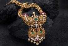 Gold Antique Haram from Creations Jewellery