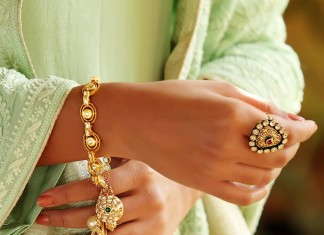 Gold Charm Bracelets and Rings from Manubhai