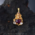 Gold Ganesh Pendant from Creations Jewellery