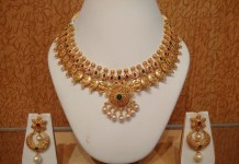 Gold Light Weight Coin Necklace From NAJ