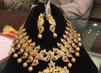 Gold Necklace Design with Weight