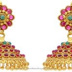 Gold Plated Hyderabad Jhumka