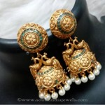 Green Jhumka Design