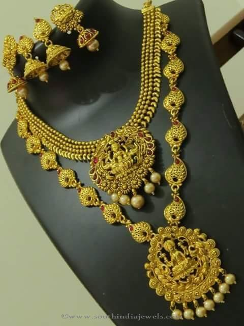 Heavy Bridal Temple Jewellery Set from Emporia