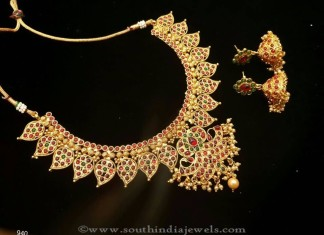 Imitation Jewellery Necklace with Jhumka
