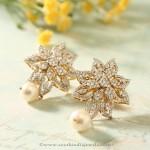 Manubhai Jewellers Diamond Ear Studs