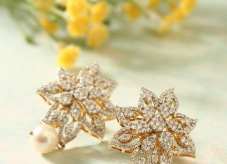 Manubhai Jewellers Diamond Ear Studs