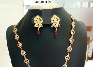 One Gram Gold Artificial Long Necklace