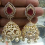 One Gram Gold Jhumki for Weddings