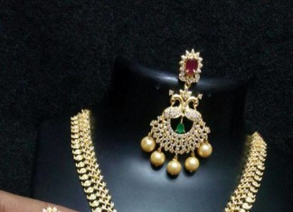 Peacock Necklace and Earrings Sets