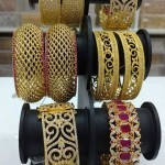 Stone Bangle Sets for Brides