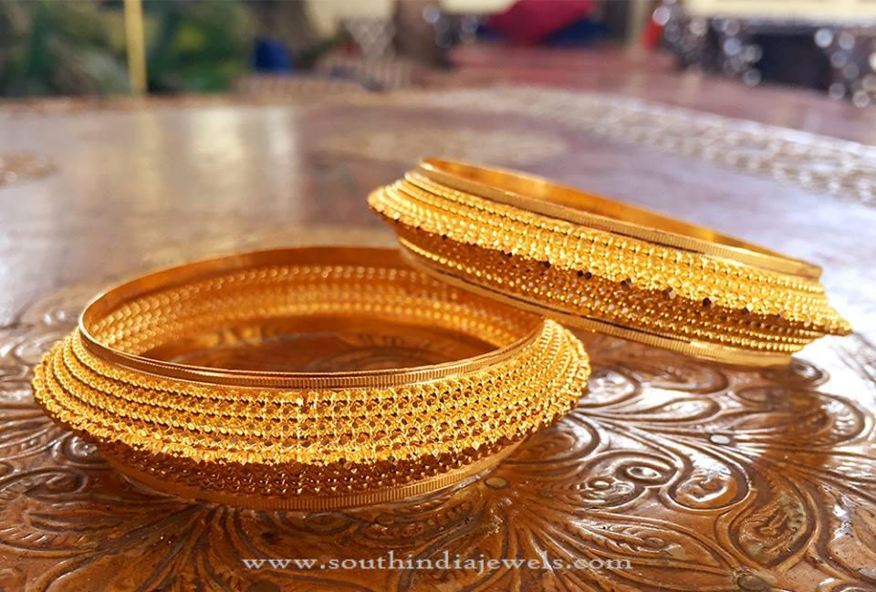 Wedding Gold Bangles From Manubhai