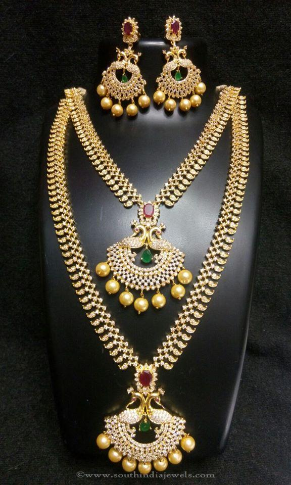 Wedding Necklace Sets For Indian Brides South India Jewels
