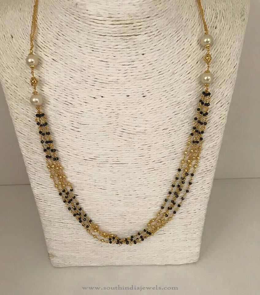 on images jewellery pinterest design designs long best banalamanjulare different gold indian beads black chains