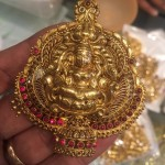 22 Grams Antique Lakshmi Pendant