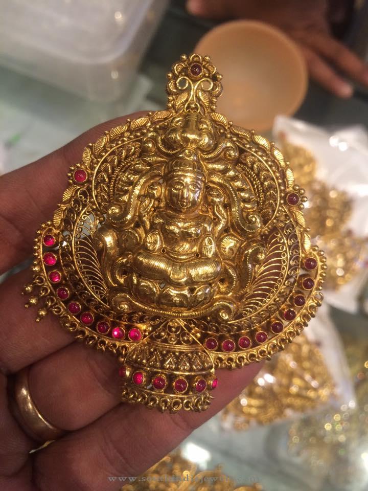 22 Grams Antique Lakshi Pendant
