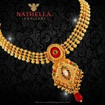 22K Gold Necklace From Nathella Jewellery
