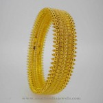 22K Gold Traditional Bangle from Karpagam Jewellers