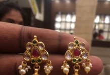 30 Grams Gold Jhumki from PSJ
