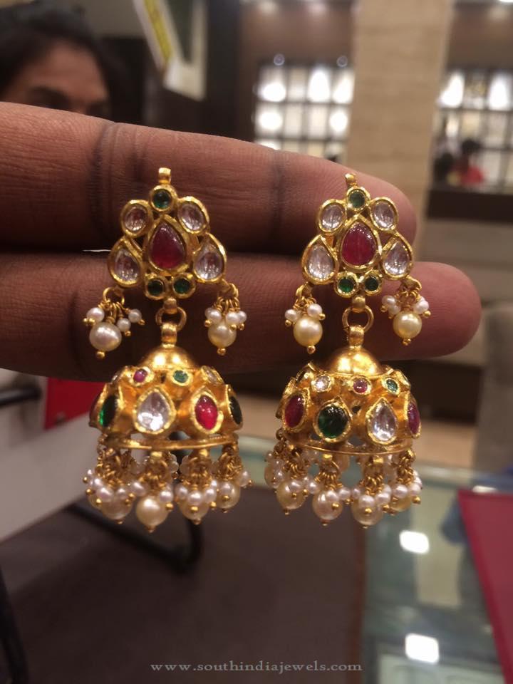 30 Grams Gold Jhumki from PSJ