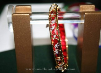 Diamond Bangle with Interchangeable Plastics