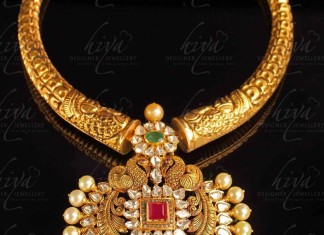 Gold Antique Necklace from Hiya Designer Jewellery