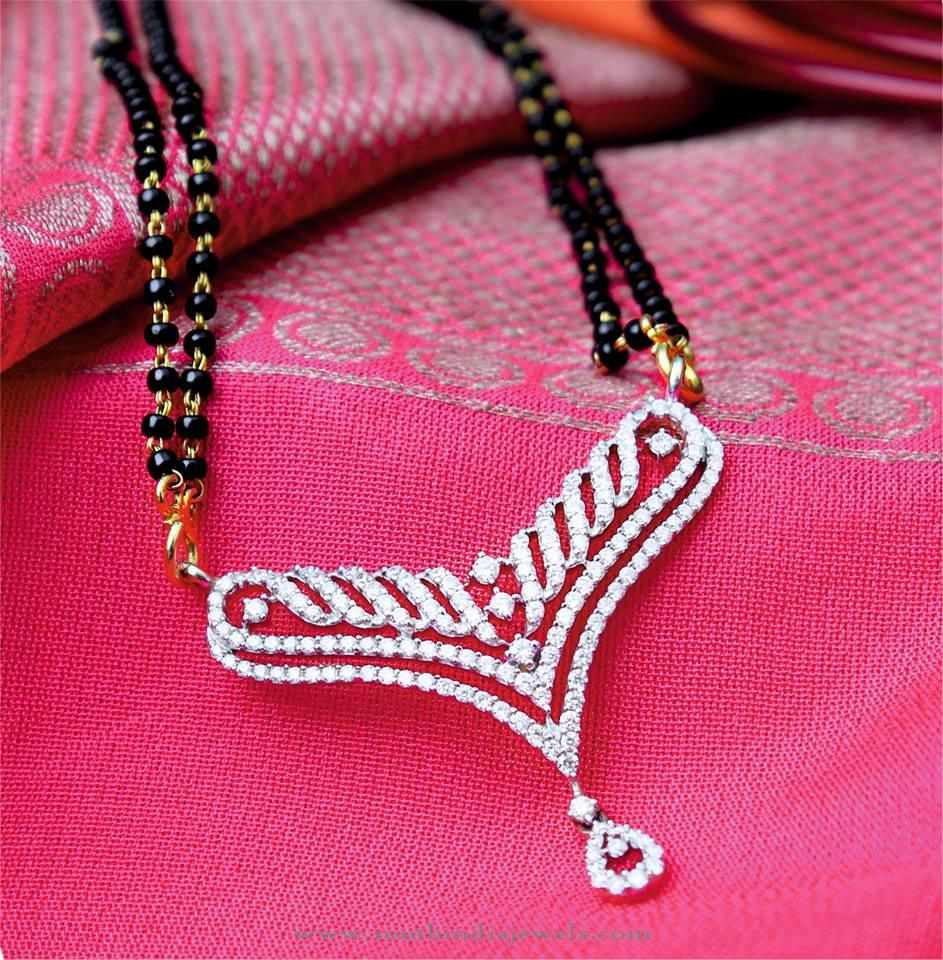 Gold Mangalsutra Designs ~ Page 2 of 2 ~ South India Jewels