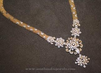 Latest Diamond Haram Design from Prakruthi