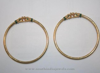 Gold Light Weight Everyday Wear Bangles