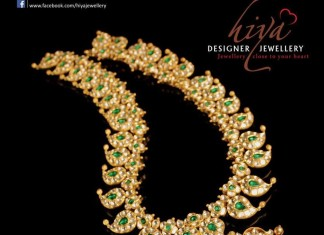 Gold Mango Mala From Hiya Designer Jewellery