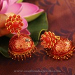 Gold Plated Pacchi Jhumka