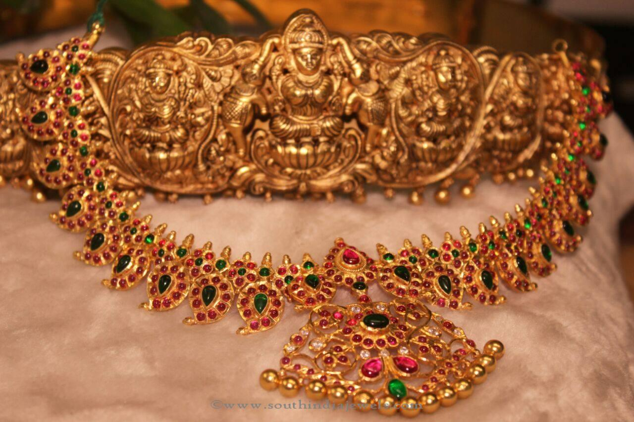 green buy gold dholki golden pink beaded kempstones necklace silver online leafing plated beads at