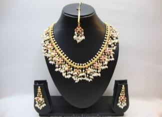 Hyderabad Guttapsualu Pearl Necklace