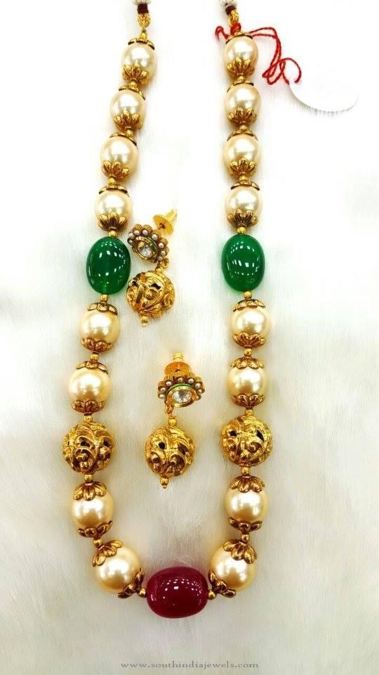 Hyderabad Pearl Mala Necklace