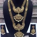 Imitation Wedding Jewellery Set from Swarnakshi