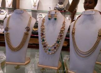 Bridal Long Haram Sets from Manchukonda