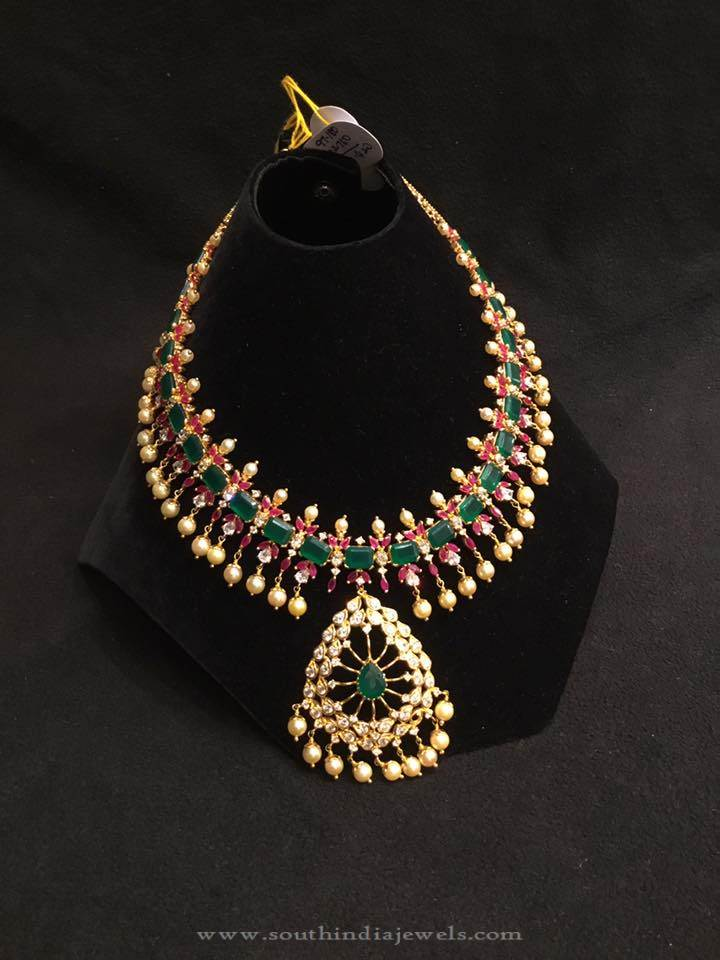 Ruby-emerald-necklace-latest-design-psj