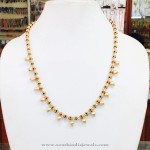 Gold Plated Pearl Mala from Amithi